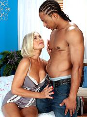 Mature anal sex scene