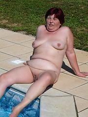 Dirty granny still loves to fuck!