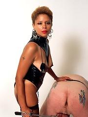 Perverted black mom Simone