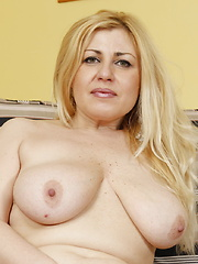 lovely big boobs on this hot mature lady