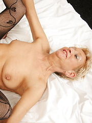 Horny cougar fucked by her toy boy