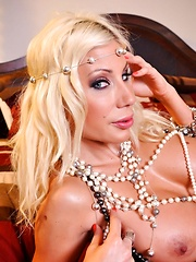 Puma Swede Pearl Play Pics - Puma Swede shows you all of her amazing assets