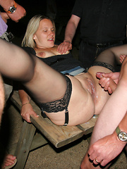 Fat mature women get banged in the night away from home